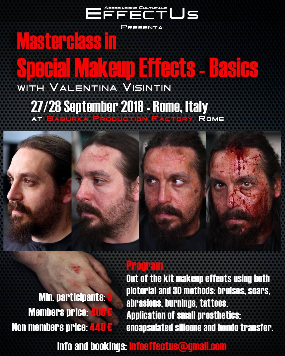 Cultural Association EffectUs - EffectUs Event - Masterclass